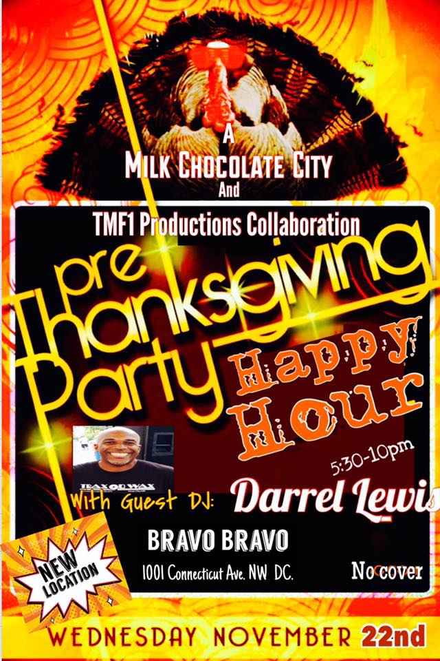 House Music Happy Hour with DJ Darrel Lewis at Bravo Bravo