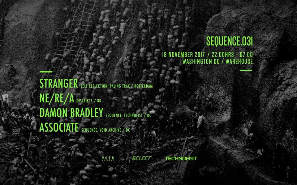 SEQUENCE.031_Stranger, Ne/Re/A, Damon Bradley, Associate at Warehouse Location