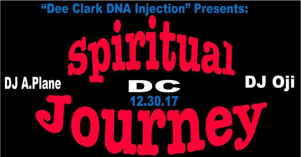 Spiritual Journey DC Returns with DJ Oji & DJ A.Plane at Red Lounge Bar & Grill
