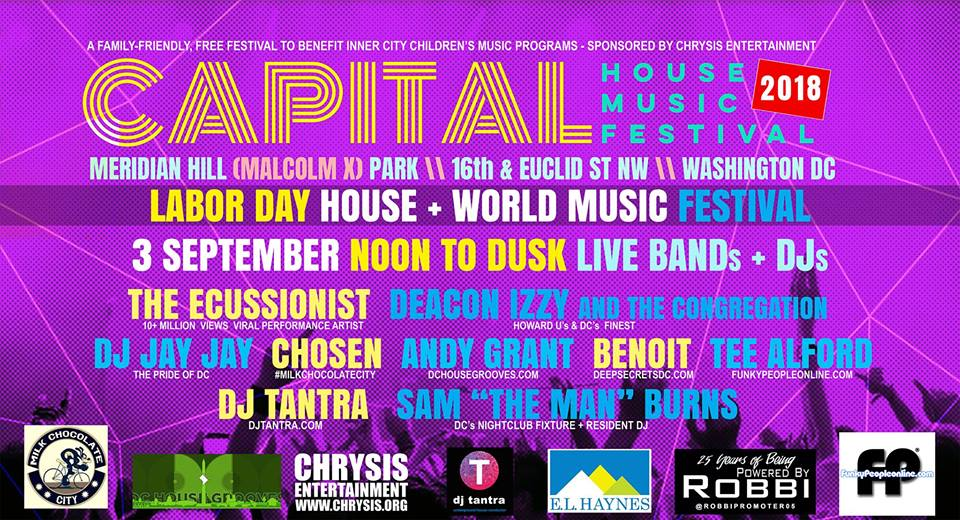 Capital house music fest 2018