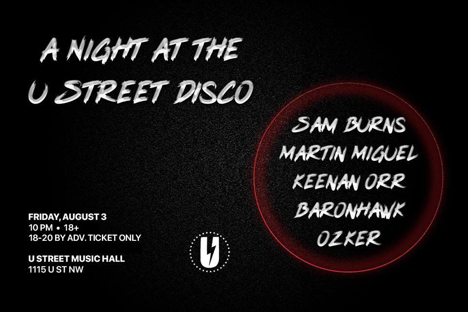 a night a the u street disco