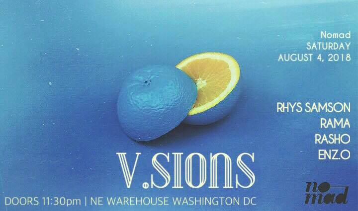 vsions warehouse party