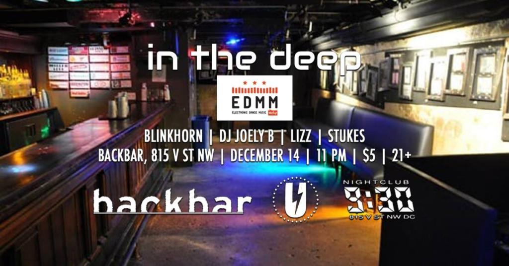 In the Deep at backbar