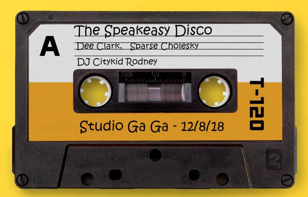 the speakeasy disco dee clark sparse cholesky