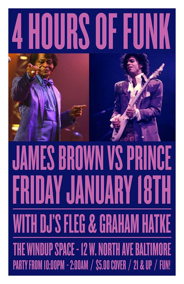 4 hours of funk james brown and prince