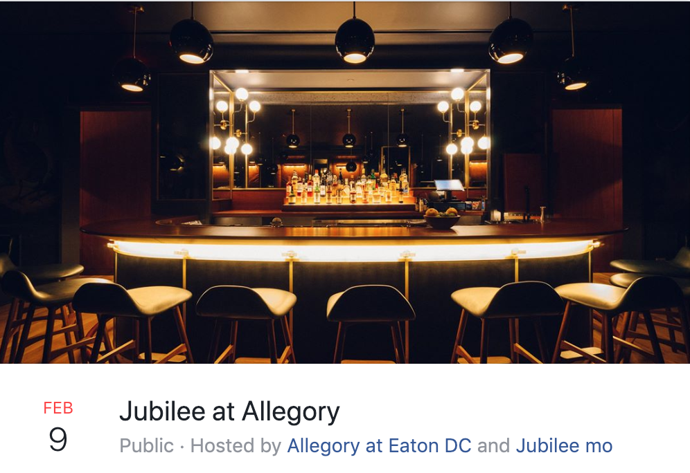 Jubilee at Allegory