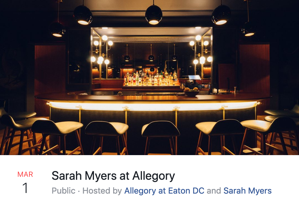 Sarah Myers at Allegory