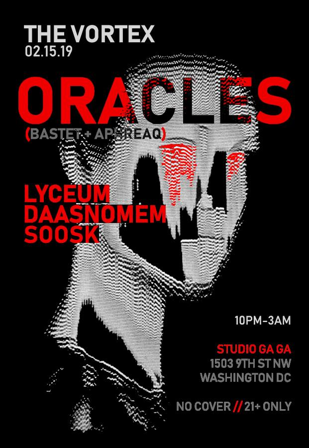 The Vortex Oracles at Studio Ga Ga