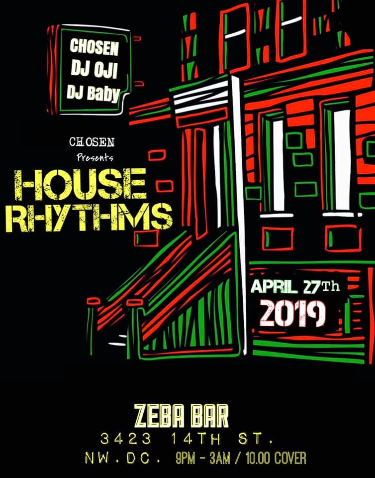 house rhythms at zeba bar