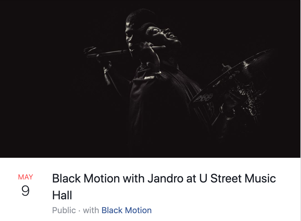 Black Motion with jandro
