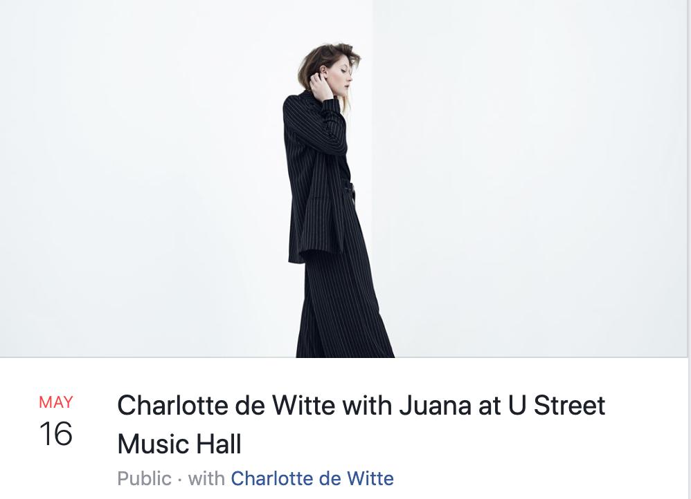 charlotte de witte at u hall