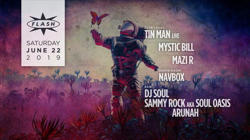 Tin Man Mystic bill Mazi R Navbox at Flash