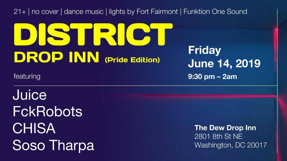 district drop inn pride edition