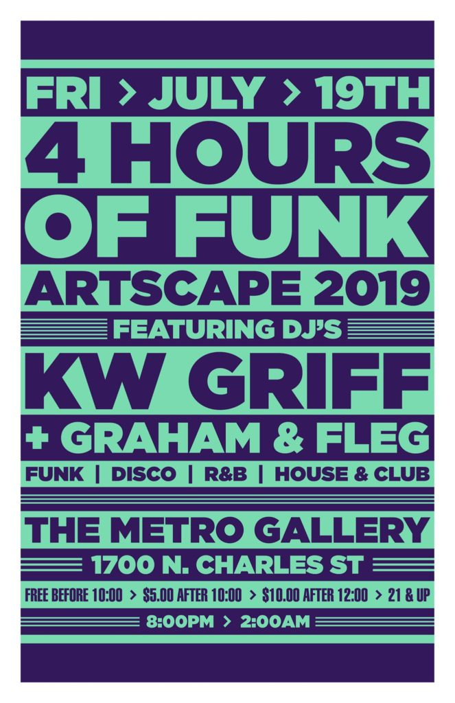 4 hours of funk at artscape