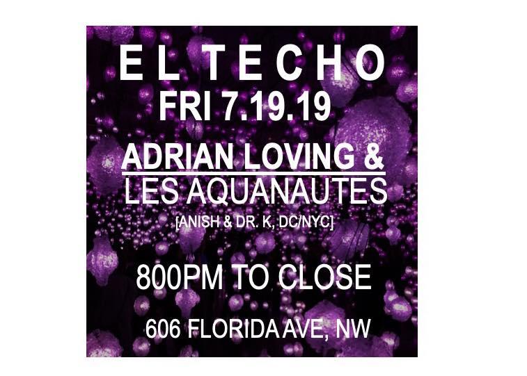 Adrian Loving at El Techo