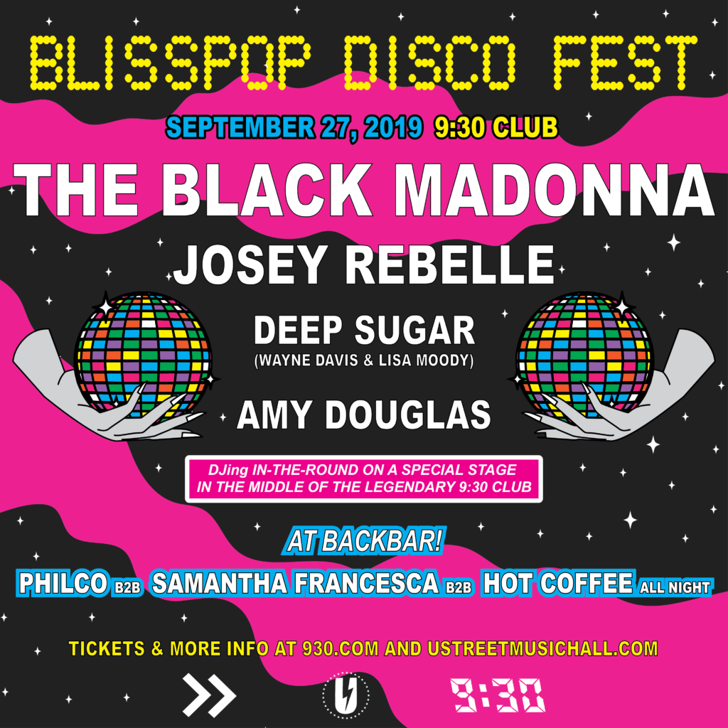 Blisspop Disco Fest with The Black Madonna and Josey Rebelle