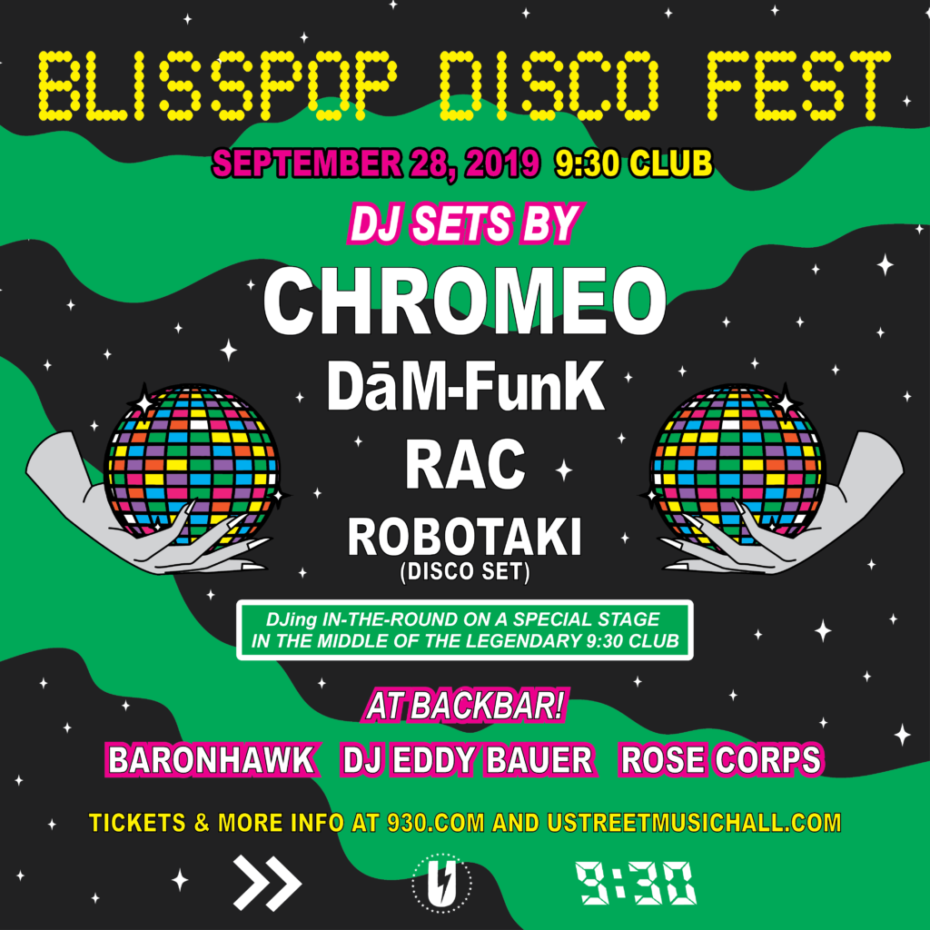 Blisspop Disco Fest Chromeo