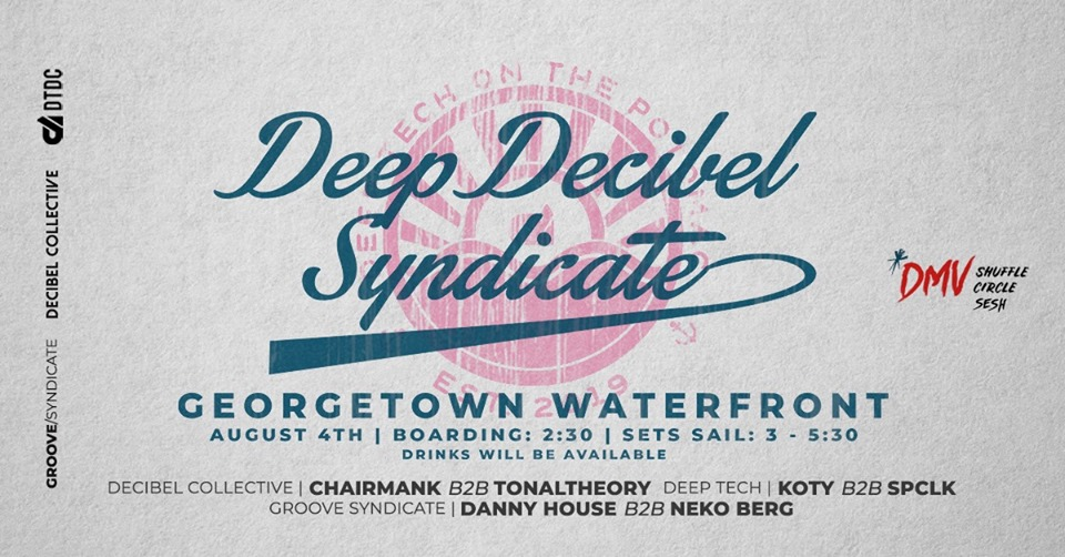 deep decibel syndicate boat party