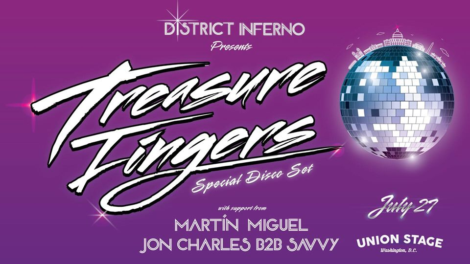 district inferno presents treasure fingers
