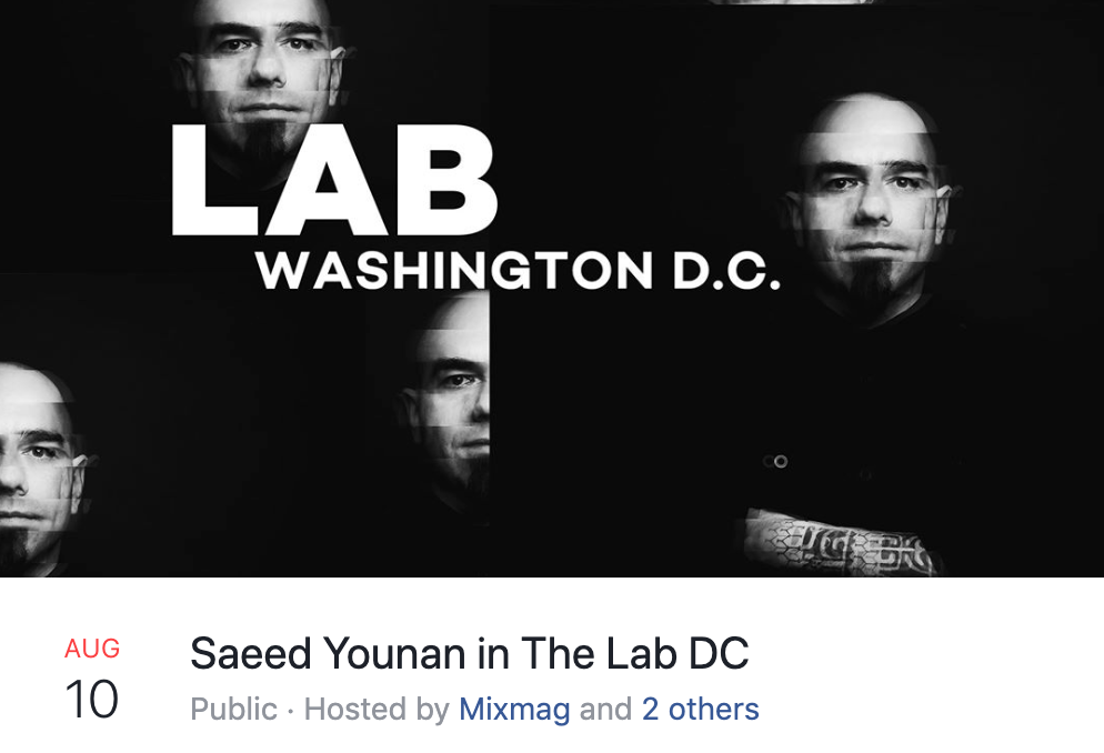 Saeed Younan the lab