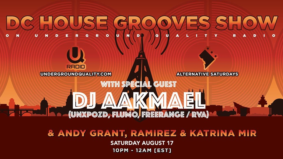 dc house grooves show with Aakmael