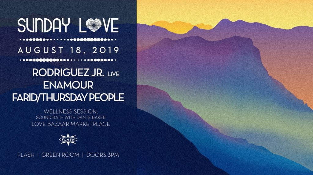 sunday love with rodriguez junior enamour farid thursday people
