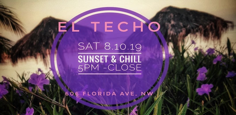 sunset and chill at el techo