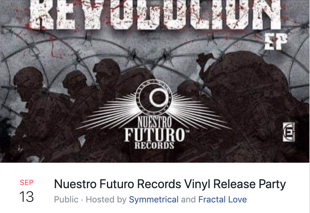 Nuestro future records vinyl release party