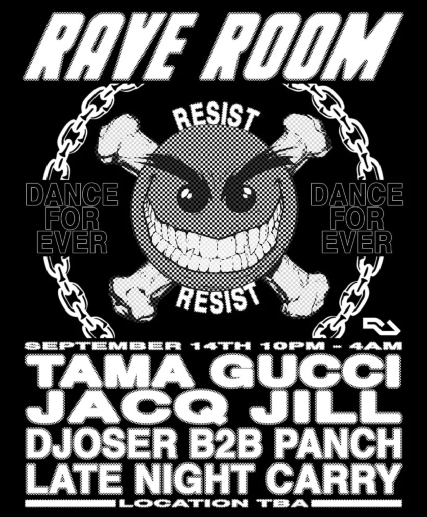 Rave Room tama gucci