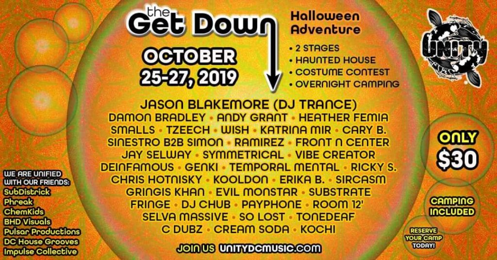 The Get Down Halloween Adventure