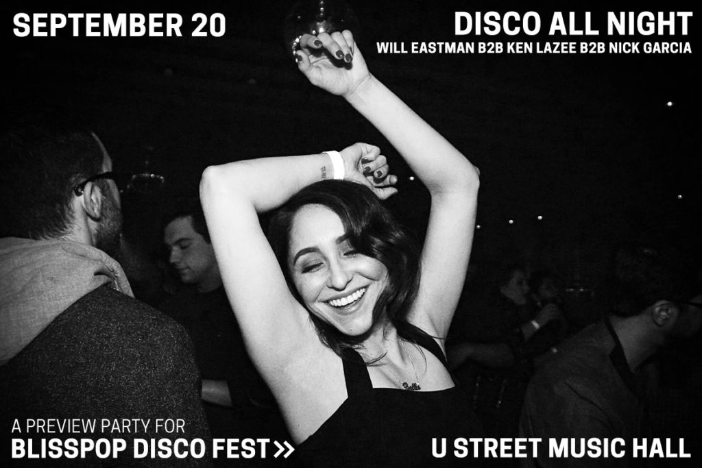 blisspop disco fest preview party