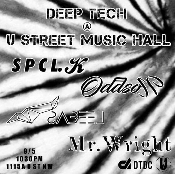 deep tech at u street music hall