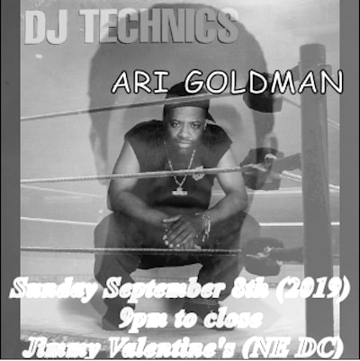dj technics and ari goldman at jimmys