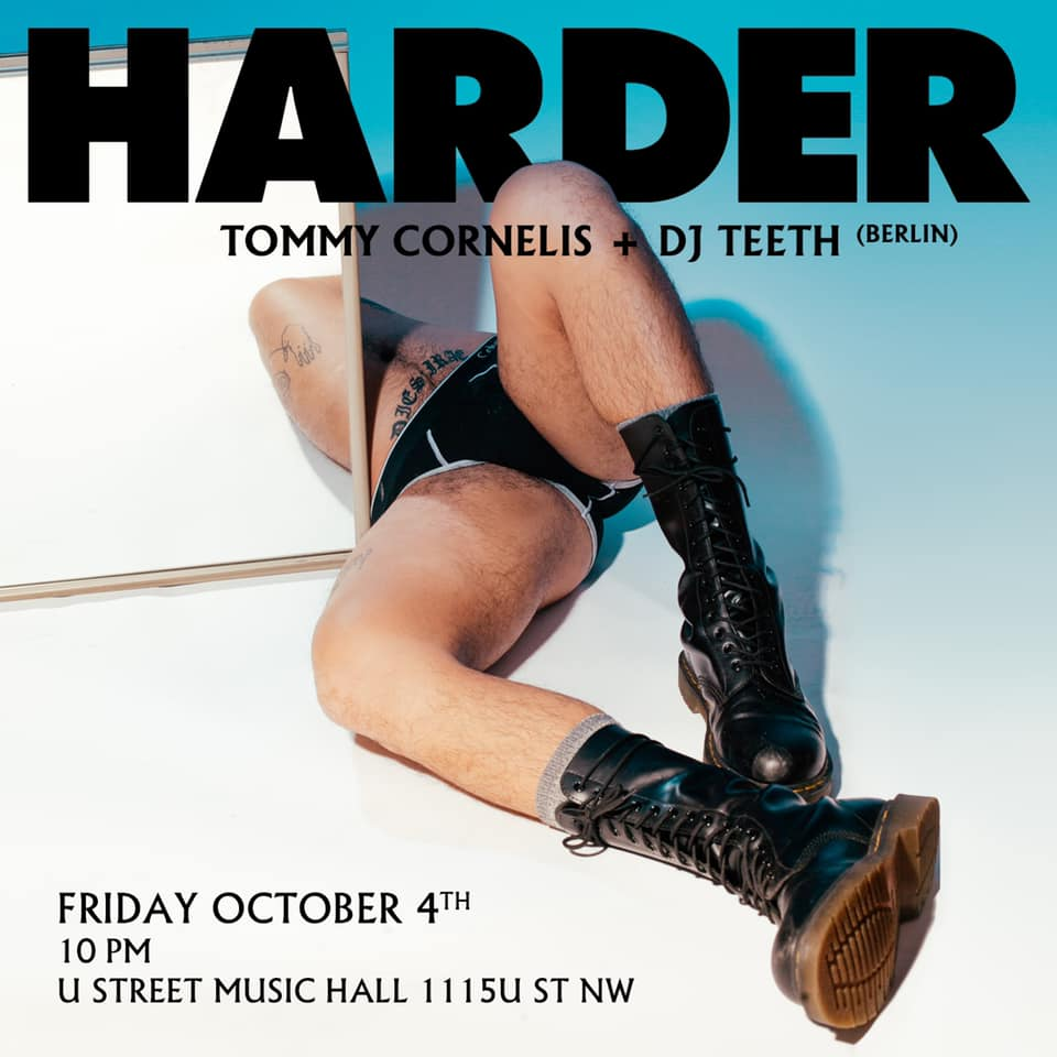 harder dc with tommy cornelis dj teeth
