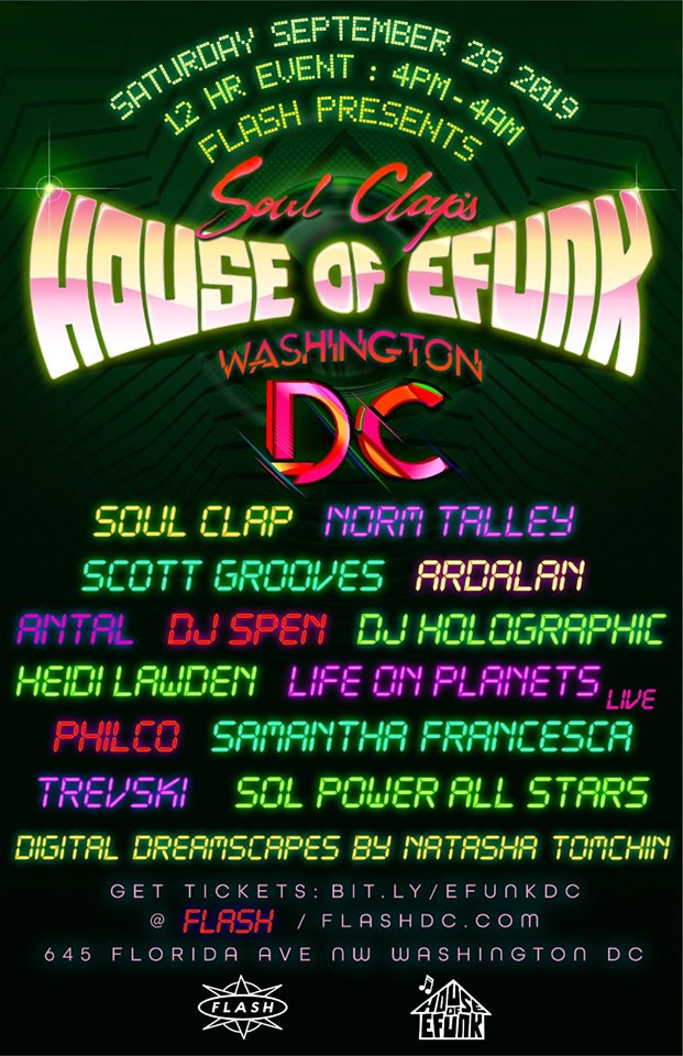 soul claps house of efunk DC