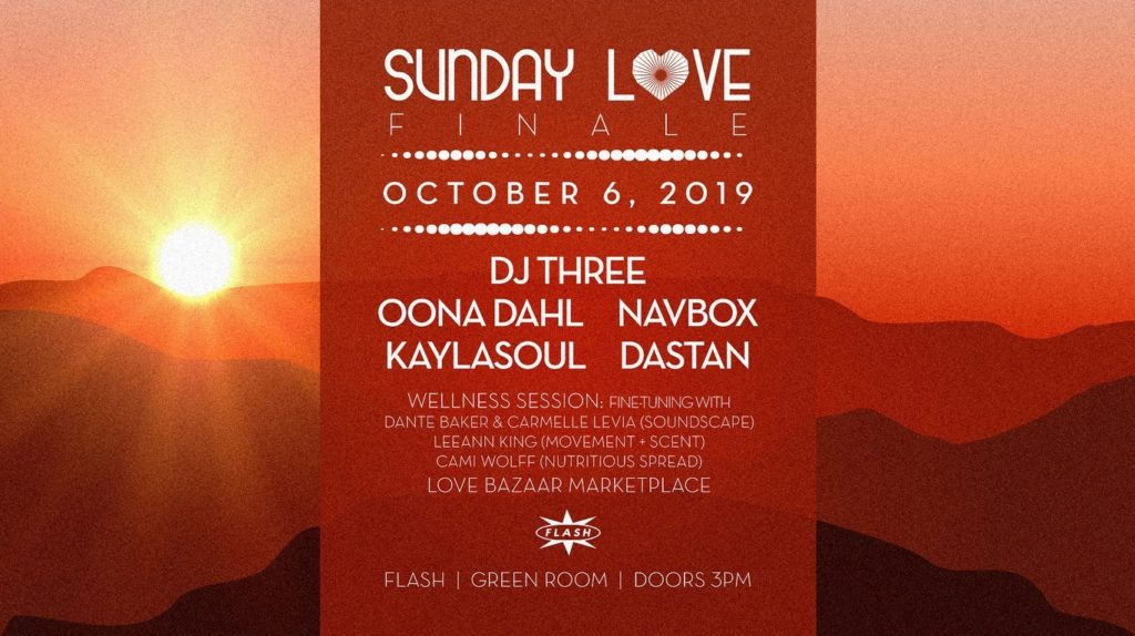 sunday love finale dj three oona dahl
