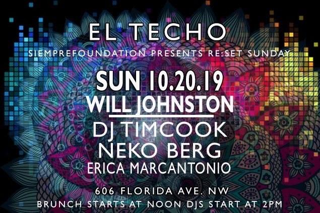 Reset Sunday at el techo
