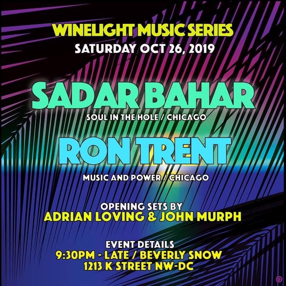 Sadar Bahaar with Ron Trent at Wild Days