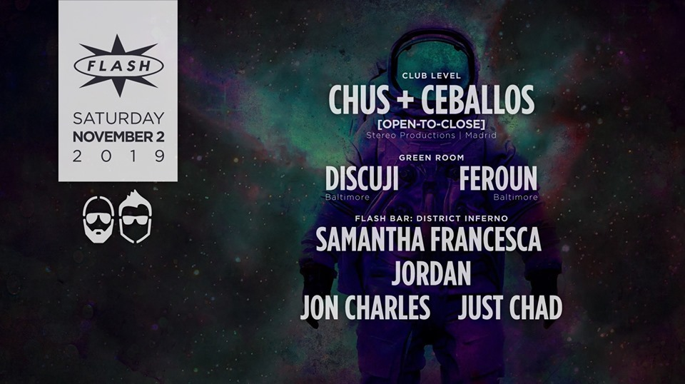 chus & ceballos at Flash