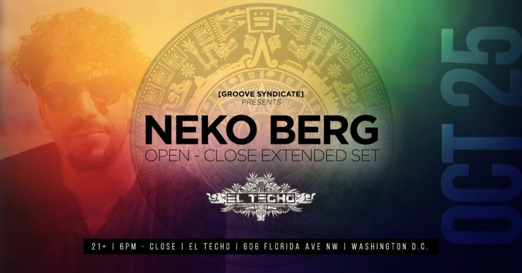Neko Berg at El Techo