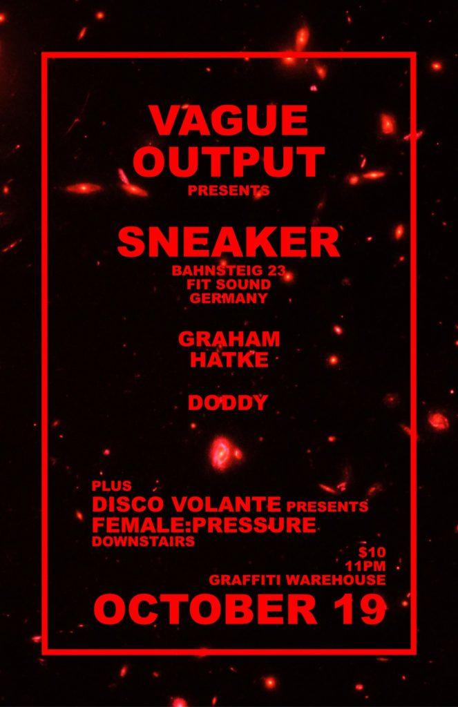 vague output presents sneaker
