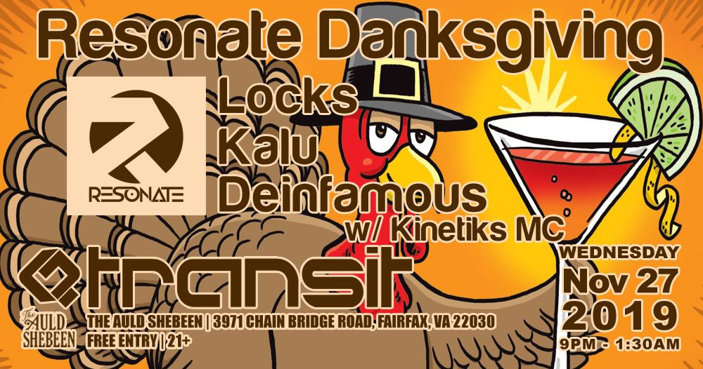 Transit Resonate Danksgiving