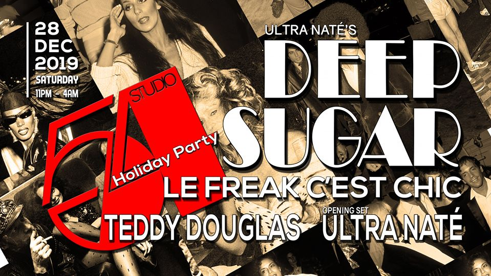 Deep Sugar Studio 54 Party 12-28